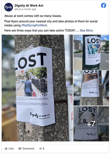 LOST signs
